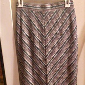 Urban outfitters pencil multicolored skirt